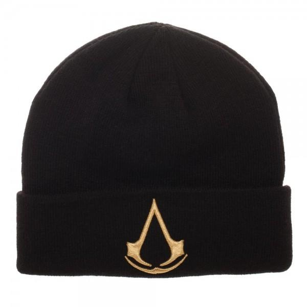 Assassin's Creed EMB Cuff Beanie - marc's funny tees