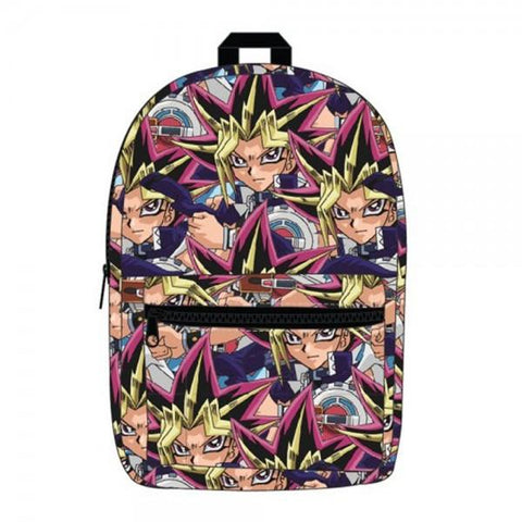 Yu-Gi-Oh! Sublimated Backpack - marc's funny tees