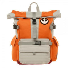 Star Wars Pilot Roll Top Backpack - marc's funny tees