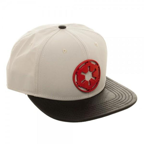 Star Wars AT-AT Driver Metal Badge Snapback - marc's funny tees