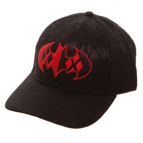 Harley Quinn Lace Dad Hat - marc's funny tees