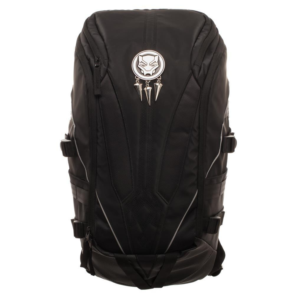 Black Panther Laptop Backpack - marc's funny tees
