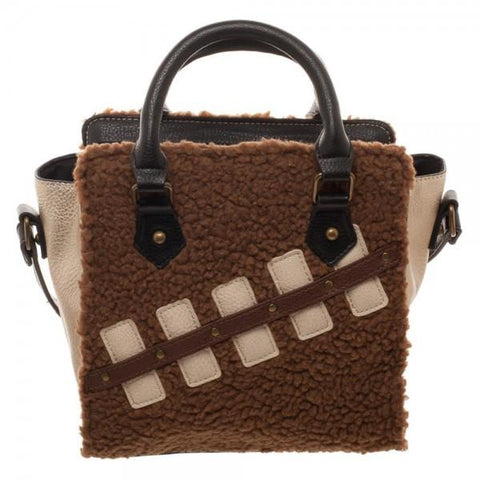 Star Wars Episode 8 Chewie and Porg Mini Brief Handbag - marc's funny tees