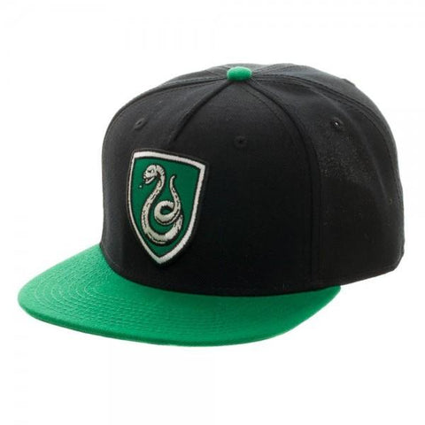 Harry Potter Slytherin Crest Snapback - marc's funny tees