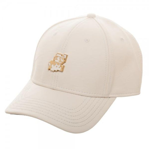 Mario Metal PU Leather Dad Hat - marc's funny tees