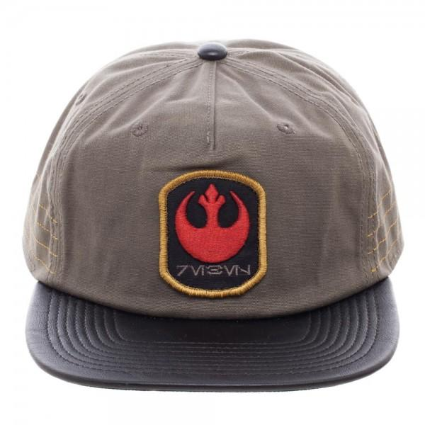 Star Wars Rogue One Distressed Rebel Slouch Snapback - marc's funny tees