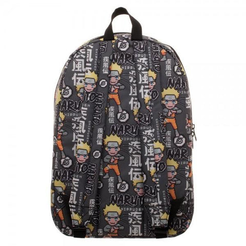 Naruto Sublimated Backpack - marc's funny tees