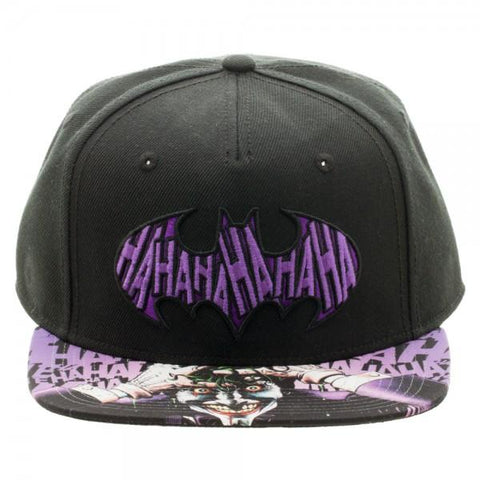 Batman Joker Sublimated Bill Snapback - marc's funny tees