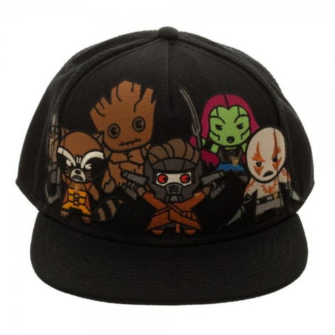 Marvel Kawaii Guardians of the Galaxy Snapback - marc's funny tees