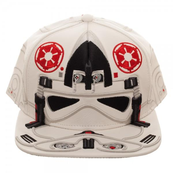 Star Wars AT-AT Driver Big Face Snapback - marc's funny tees