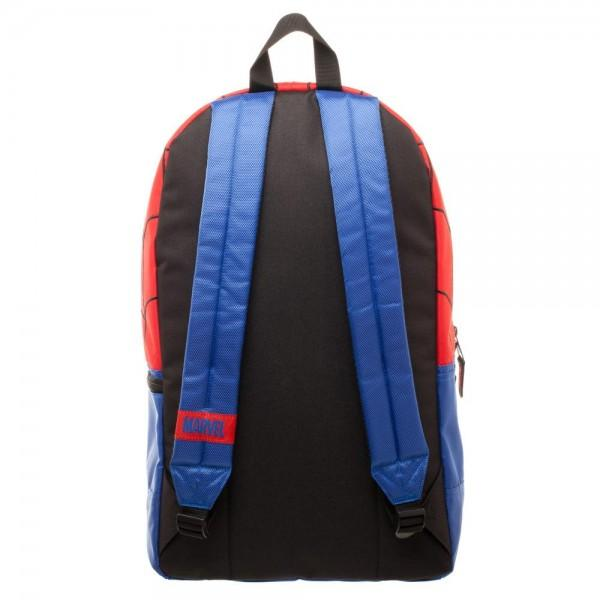 Marvel Spiderman Backpack with Reflective Eyes - marc's funny tees