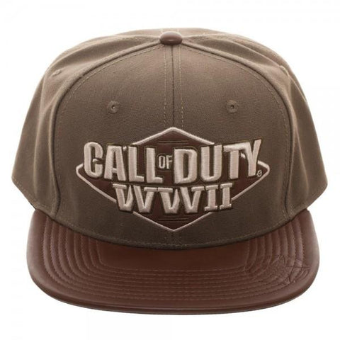 Call of Duty: World War II 3D Embroidered Snapback - marc's funny tees