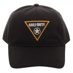 Call of Duty: WWII Woven Patch Dad Hat - marc's funny tees