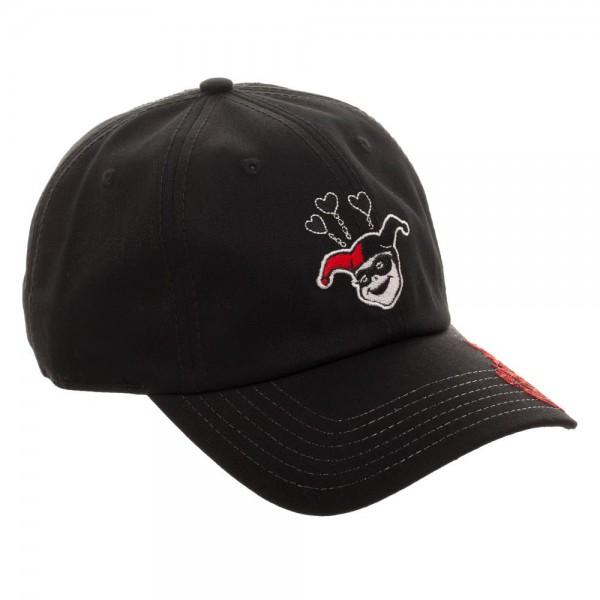 Harley Quinn Adjustable Cap - marc's funny tees