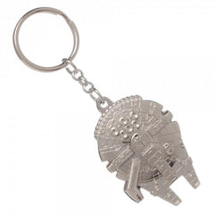 Star Wars Millenium Falcon Keychain - marc's funny tees
