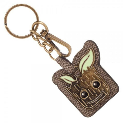 Groot PU Keychain - marc's funny tees