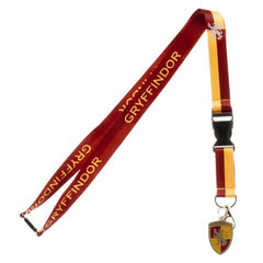 Harry Potter Gryffindor School Lanyard - marc's funny tees