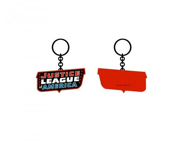 Justice League Classic Keychain - marc's funny tees