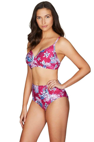 Bahamas Rose Twist Front DD/E Cup Bra <br> Final Sale