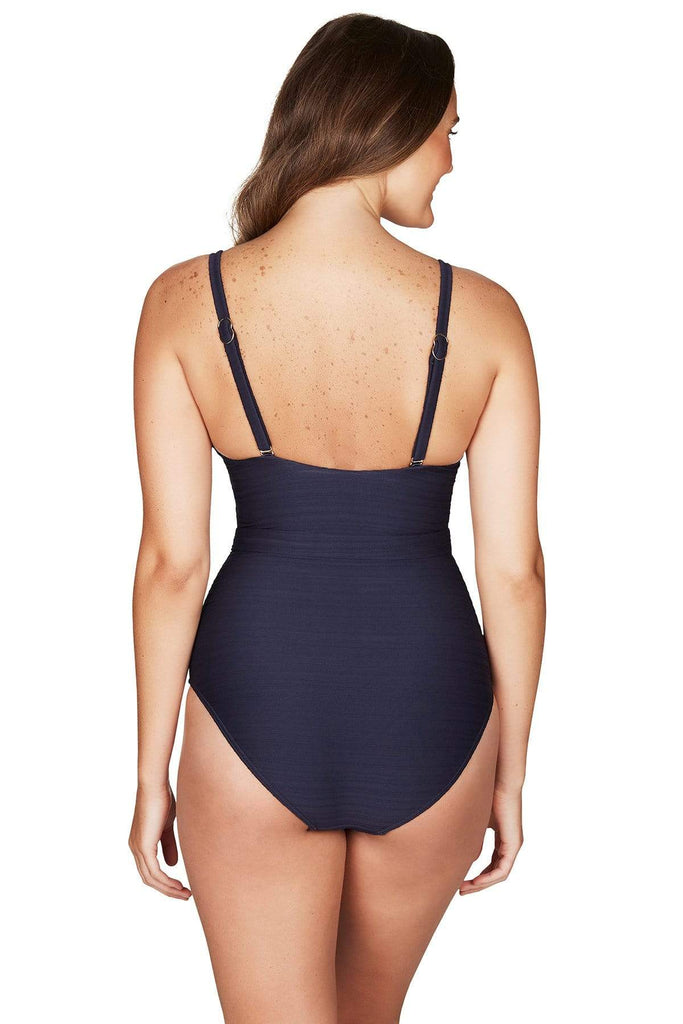 Casablanca Night Sky Belted D Cup One Piece