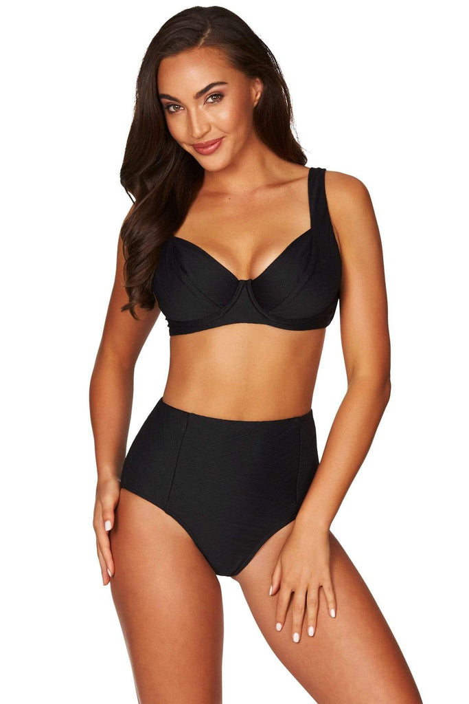 Majorca Black DD/E Bra Top <br> Final Sale