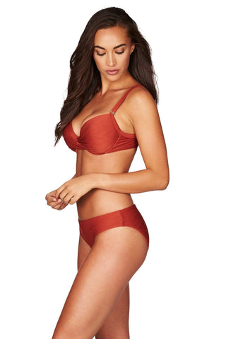 Majorca Tuscan Sun Twist Front Bra <br> Final Sale