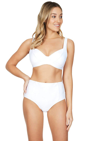 Majorca White DD/E Bra Top <br> Final Sale