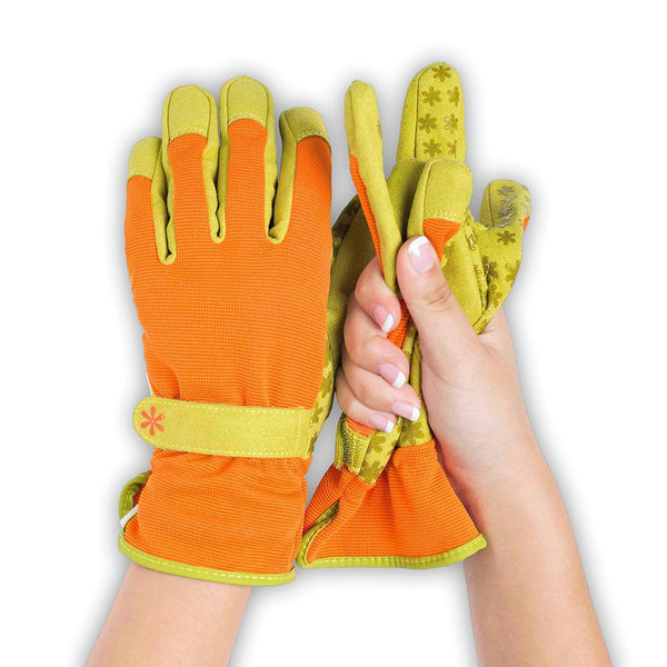 Dig It® Handwear Women's Utility and Gardening Gloves Orange