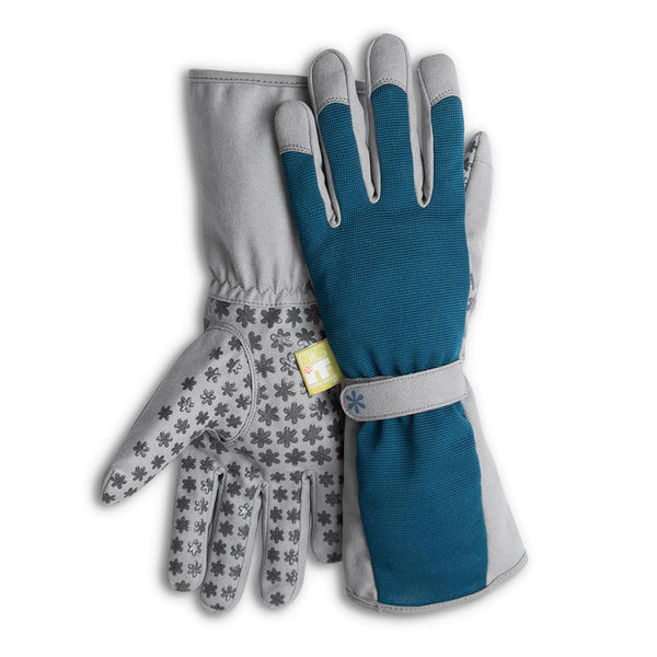 Dig It® High 5 Women's Utility and Gardening Gloves Blue-Grey