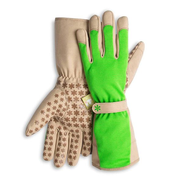 Dig It® High 5 Women's Utility and Gardening Gloves Green-Tan