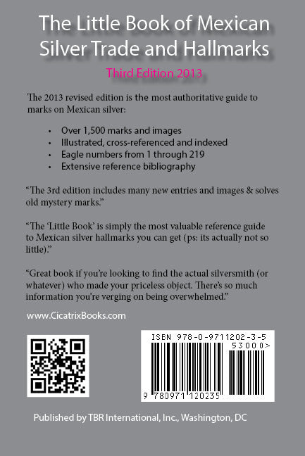 Ebook The Little Book Of Mexican Silver Trade And Hallmarks 3rd Edition By Bille Hougart