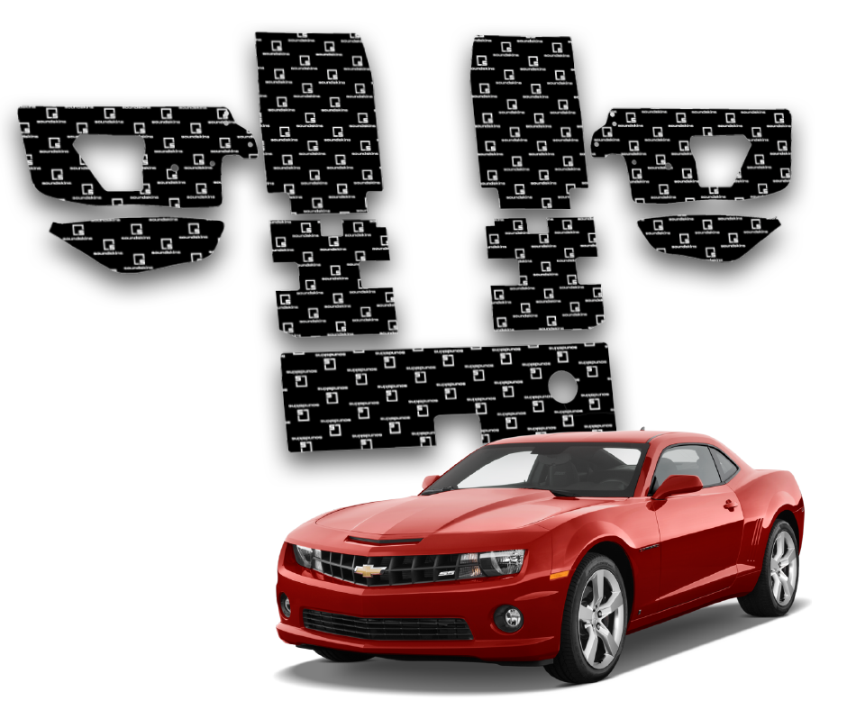 SoundSkins Pro Chevy Camaro Template Kit | 2010 to 2015