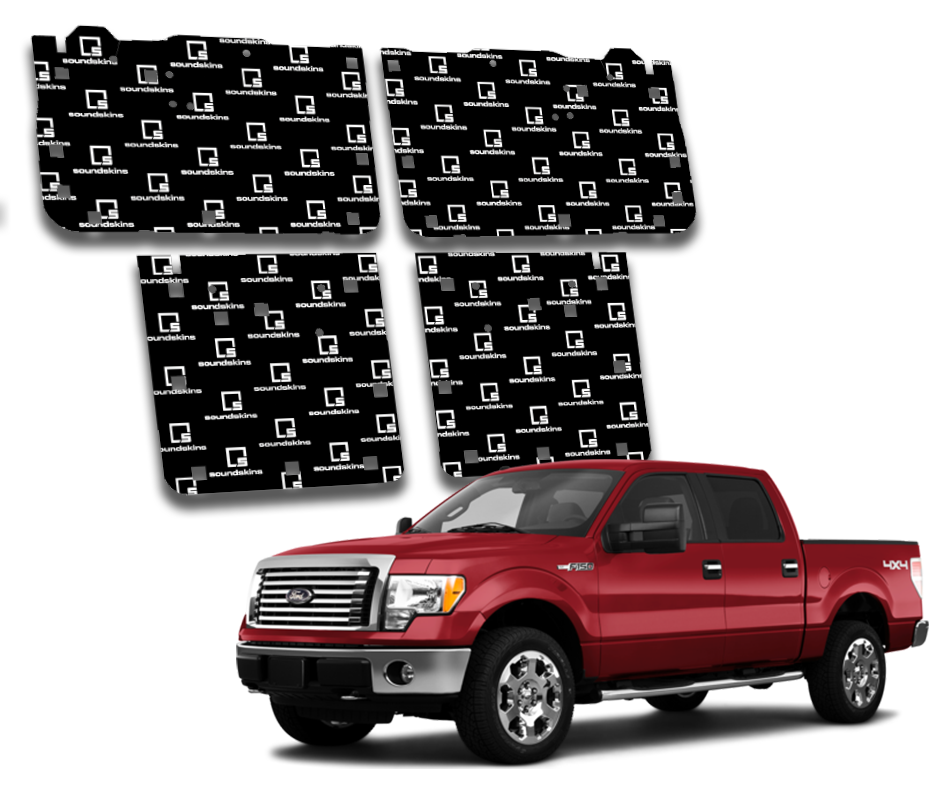 SoundSkins Pro Ford F-150 4-Door Template Kit | 2009 to 2014