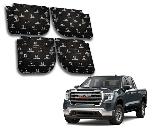 SoundSkins Pro GMC Sierra 4-Door Template Kit | 2019 to 2021