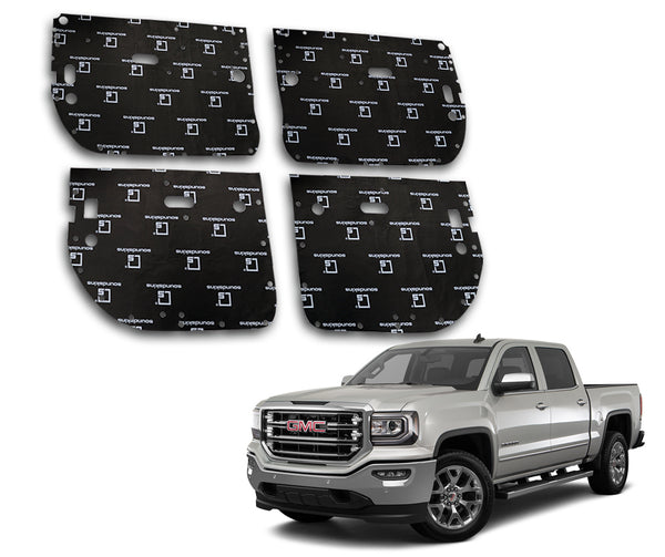 SoundSkins Pro GMC Sierra 4-Door Template Kit | 2014 to 2018