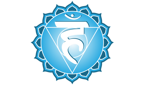 7 Day Candle - Throat Chakra (5th Chakra)