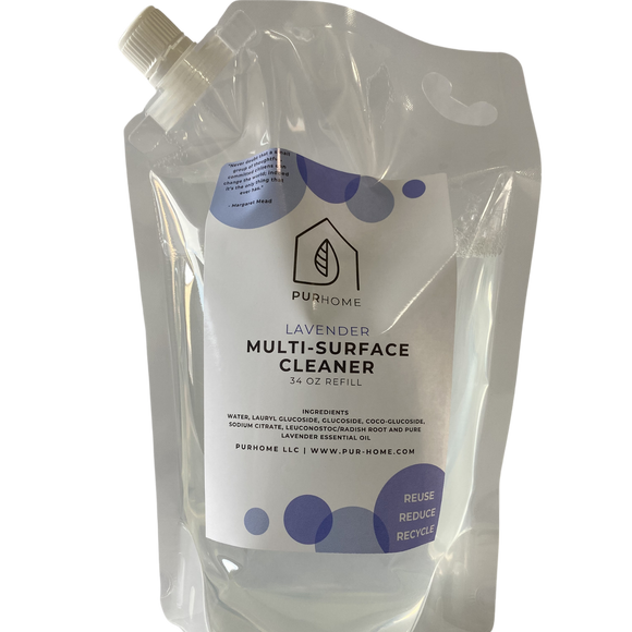 34 oz Multi-Surface Cleaner (Refill Pouch)