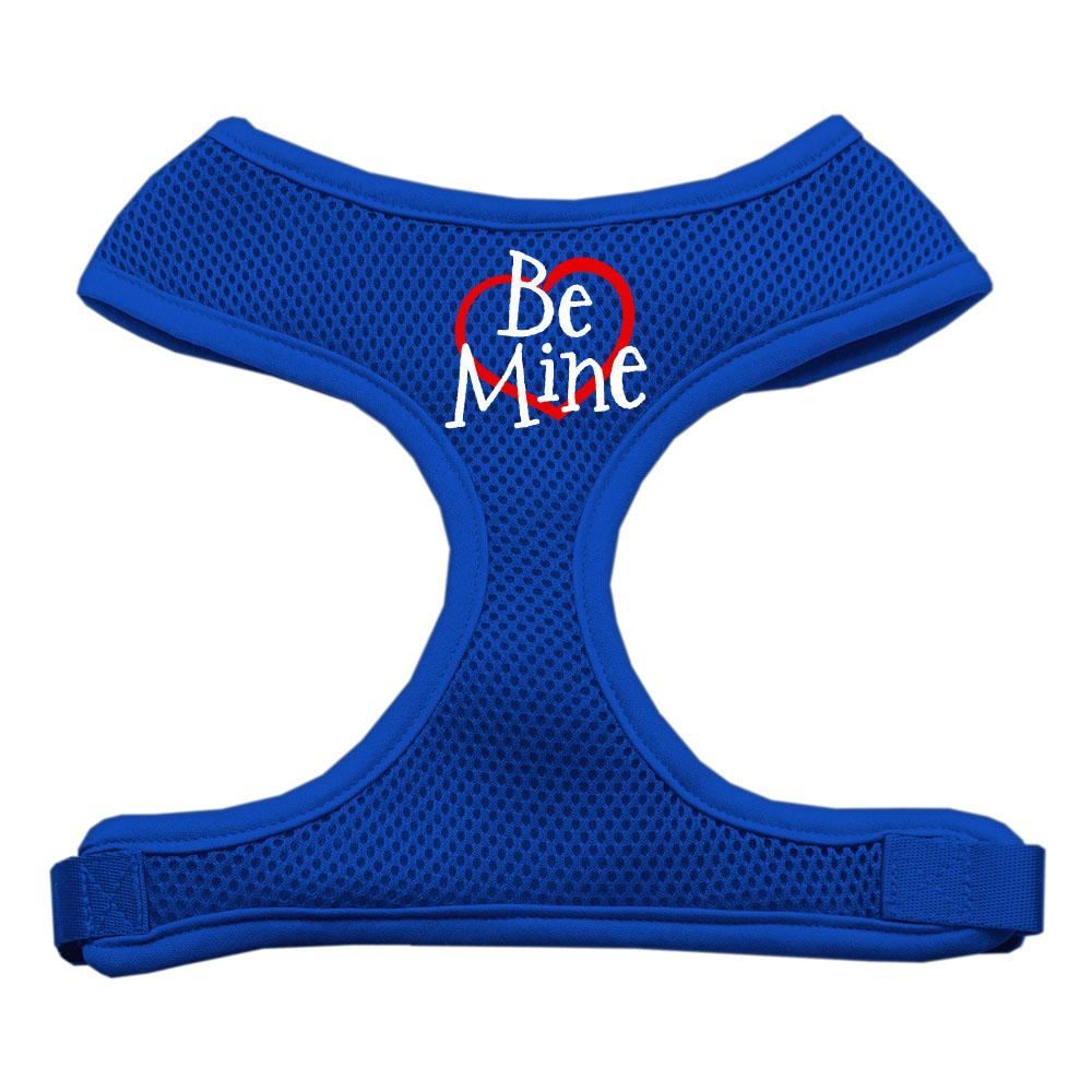 Be Mine Soft Mesh Harnesses Blue