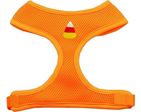 Candy Corn Chipper Orange Harness Medium
