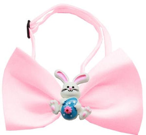 Easter Bunny Chipper Light Pink Bow Tie