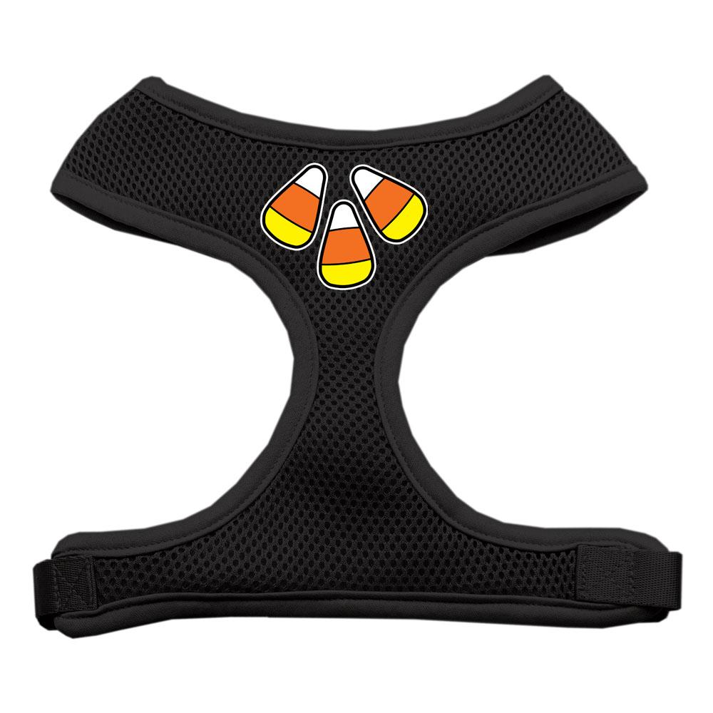 Candy Corn Design Soft Mesh Harnesses Black Medium