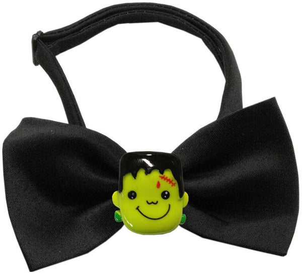 Frankenstein Chipper Black Bow Tie