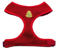 Christmas Tree Chipper Red Harness Medium