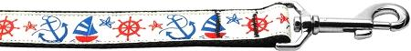 Anchors Away 1 inch wide 4ft long Leash