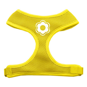 Daisy Design Soft Mesh Harnesses Yellow Large