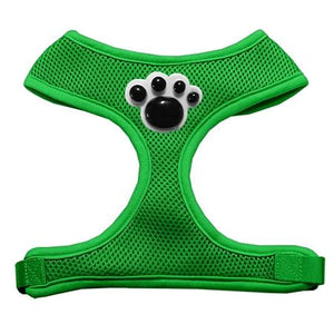 Black Paws Chipper Emerald Harness Small