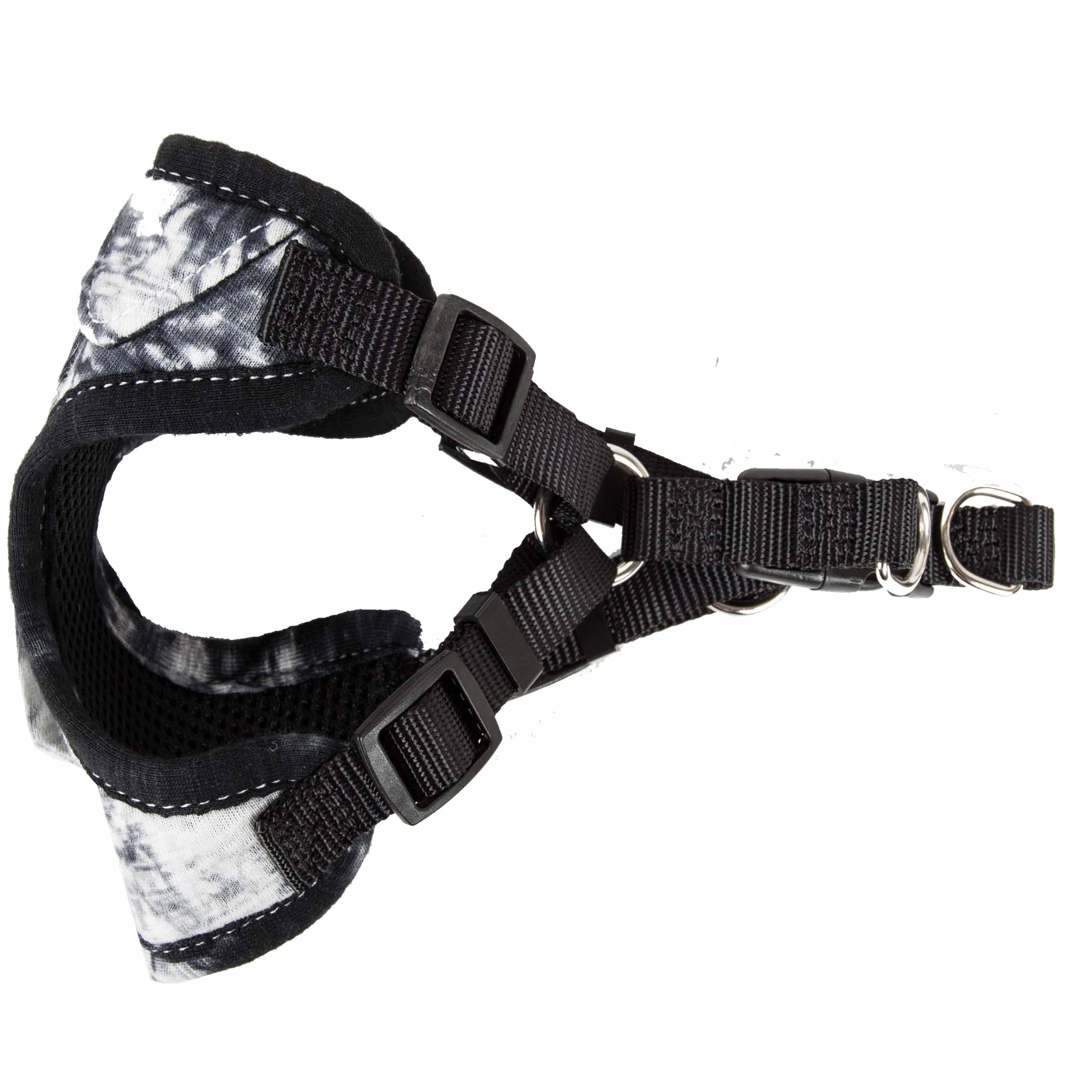 Pet Life ® 'Bonatied' Mesh Reversible And Breathable Adjustable Dog Harness W/ Designer Neck Tie