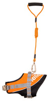 Helios Bark-Mudder Easy Tension 3M Reflective Endurance 2-in-1 Adjustable Dog Leash and Harness