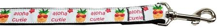 Aloha Cutie Nylon Dog Leash 6 Foot