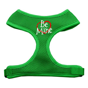 Be Mine Soft Mesh Harnesses Emerald Green